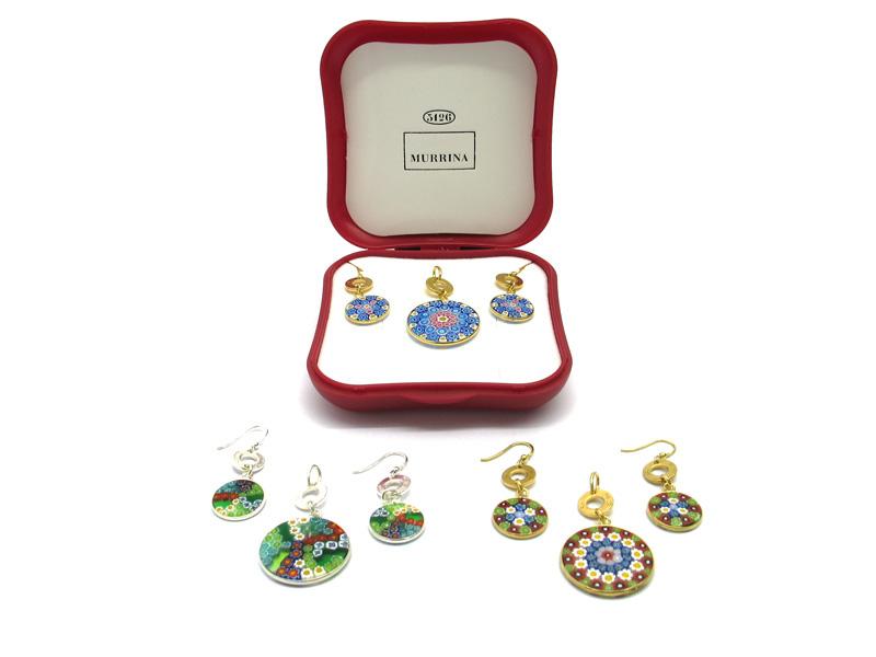 gioielli di bigiotteria vetro di Murano